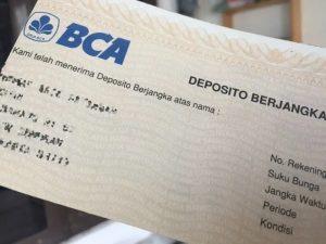 deposito berjangka BCA